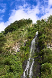 Waterfall in Banos, Ecuador