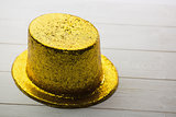 Gold party hat