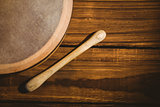 Traditional Irish bodhran and stick