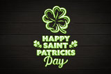 Composite image of patricks day greeting