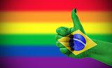 Positive attitude of Brazil for LGBT community