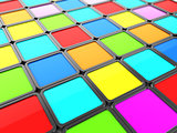 colorful tiles background