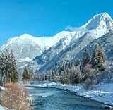 Winter mountain river (Austria,Tirol)