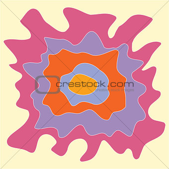 Bright colored abstractions colorful background