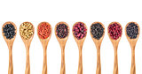 dried superfruit berry set