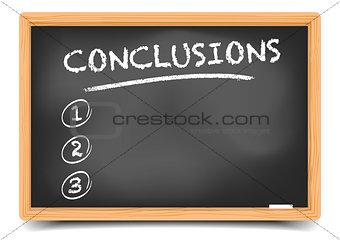 List Conclusions