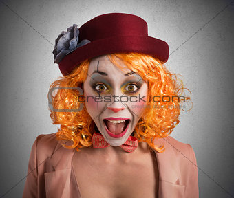 Grimace clown