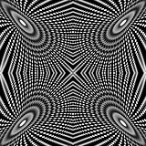 Design circle movement illusion background