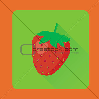 Flat strawberry