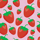 Pattern strawberry