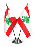 Lebanon - Miniature Flags.