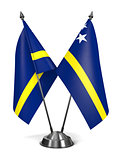 Curacao - Miniature Flags.