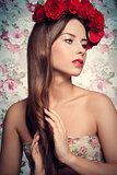splendid spring woman