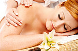 Preety woman in spa treatment