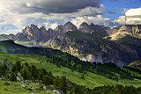 Dolomites Puez Odle