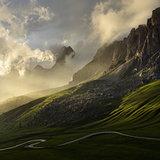 Dolomites Pass Giau