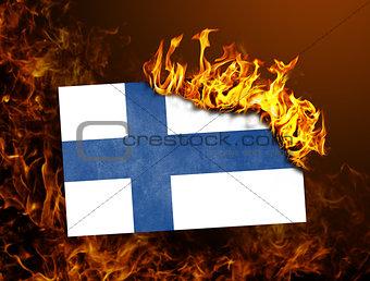 Flag burning - Finland