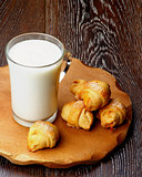 Milk and Croissant Cookies