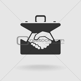 Case Handshake Symbol