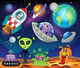 Red planet fantasy theme 1