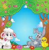 Spring animals theme image 3