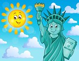 Statue of Liberty theme image 2