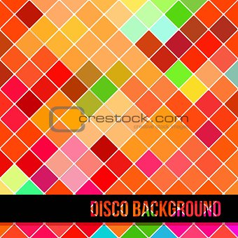 Abstract Background of Colorful Rombus