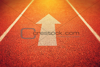 athletics all weather running track