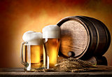 Beer and barrel