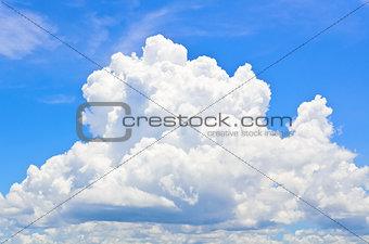 Sky and clounds