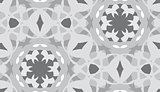 Desaturated Geometric Pattern