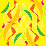 Abstract Seahorses Pattern