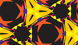 Seamless Yellow and Orange Pattern