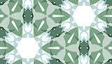 Green Trianglular Seamless Packgroud