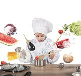 Little child chef