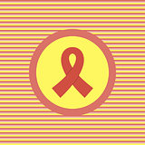 AIDS color flat icon