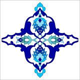 artistic ottoman pattern series eighty one