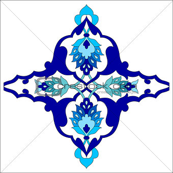 artistic ottoman pattern series eighty one