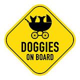 dog on board sign