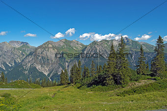 Austrian Alps in summer
