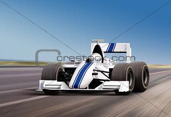 on speed track