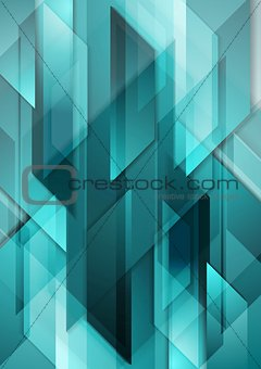 Bright tech corporate motion background