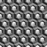 Honeycomb background 3d. Mosaic.