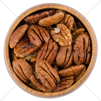 Bowl With Pecans
