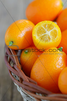 a slice kumquat