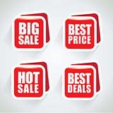 Big sale and best deal special offer bubble set