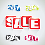 Sale stickers