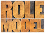 role model typography