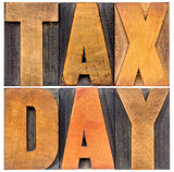 tax day - financial concept