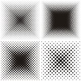 Backgrounds with halftone effect